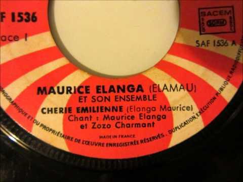 Maurice Elanga et son ensemble – chérie Emilienne