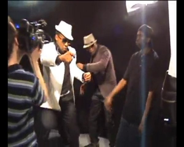 OUIJAH – Zangalewa 2010 Extrait du making of du clip