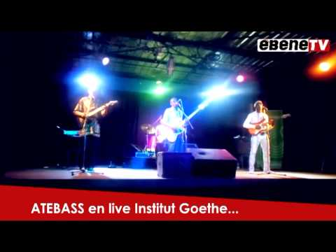 ATEBASS – live at the Goethe-Institut 2013 (1)