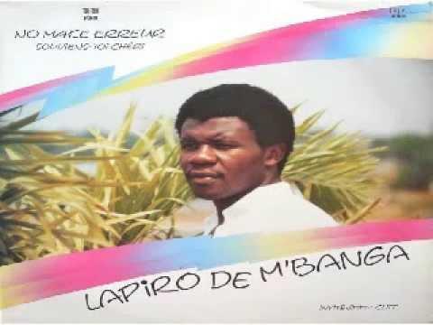 LAPIRO DE MBANGA – No make erreur (1986)